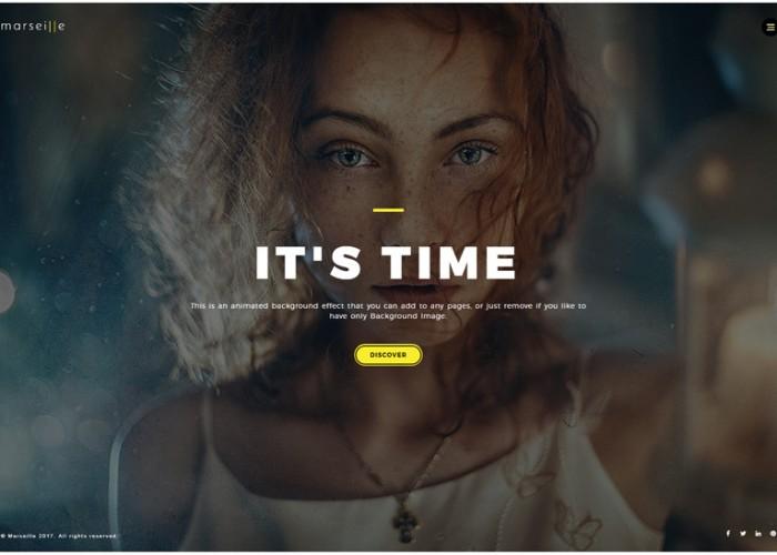 Marseille – Premium Responsive Photography HTML5/CSS Template