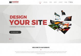 Master Creator – Premium Responsive Multipurpose Muse Theme