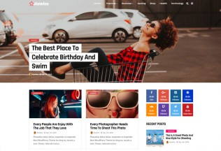 Mawiss – Premium Responsive Blog Magazine WordPress Theme