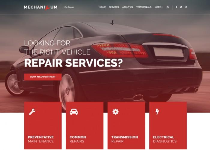 Mechanicum – Premium Responsive Car Repair WordPress Theme