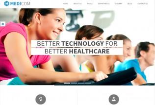 Medicom – Premium Responsive Medical & Health Drupal Theme