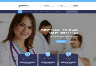 MediHeal – Premium Responsive Health and Medical WordPress Theme