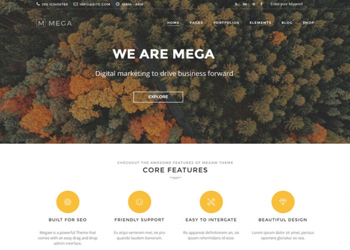 Responsive Drupal Themes