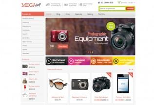 Mega Shop – Premium Responsive WooCommerce WordPress Theme