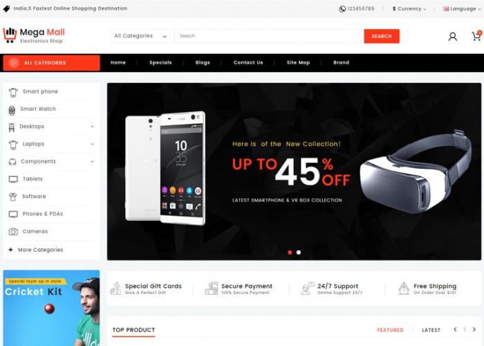 Megamall – Premium Responsive MultiPurpose OpenCart Theme