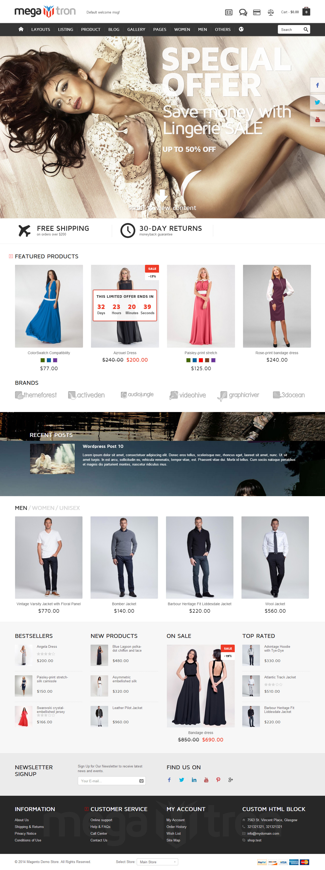 25+ Best Responsive Magento Bootstrap Themes in 2014 - Responsive ...