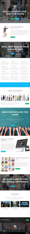 Best Responsive Wordpress Creative Themes in 2016