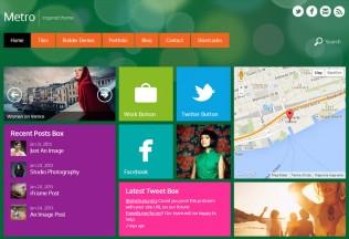 Metro – Premium Responsive WordPress Blog & Portfolio Theme