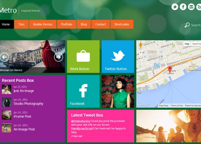 Contemporary Intranet Theme Wordpress Photos - Professional Resume ...
