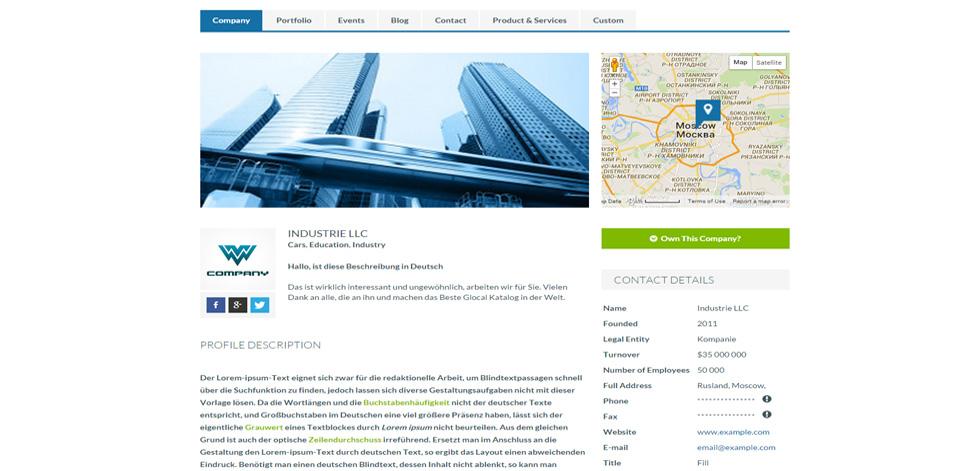 Metrodir Premium Responsive Directory Wordpress Theme