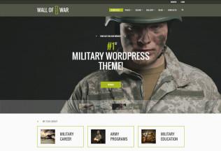 Military – Premium Resposnive Veterans & Military Service WordPress Theme
