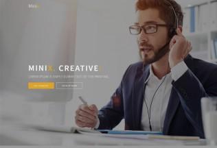 Minix. – Premium Responsive Multipurpose HTML5 Template
