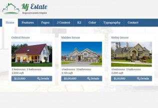 Mj Estate – Joomla Premium Responsive Theme for Real Estate Agencies