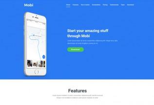 Mobi – Premium Responsive App Landing Page HTML5 Template