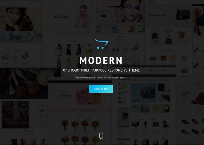 Modern – Premium Responsive Multipurpose Opencart Theme