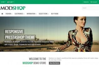 Modshop – Premium Responsive PrestaShop Theme