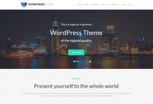 Monstroid – Premium Responsive WordPress Theme