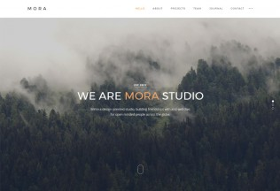 Mora – Premium Responsive Creative Portfolio & Photography WordPress Theme