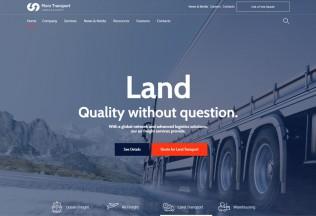 Morz – Premium Responsive Transport Cargo Logistic WordPress