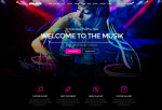 Musik – Premium Responsive Music Bands, Artists, Clubs OnePage HTML5 Template