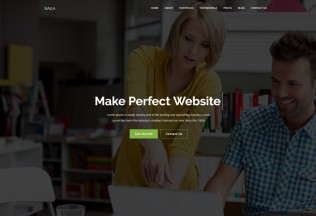 Naila – Premium Responsive One Page MultiPurpose HTML5 Template