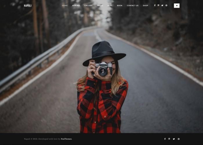 Napoli – Premium Responsive Photography Portfolio HTML5 Template