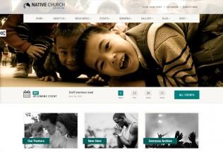 NativeChurch – Premium Responsive Multipurpose WordPress Theme