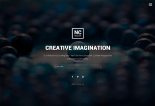 NC-Hold – Premium Responsive Coming-Soon HTML5 Template