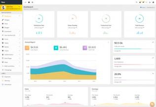Nexa – Premium Responsive Material Design Admin HTML5 Template