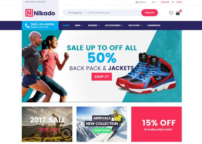 Nikado – Premium Responsive Multipurpose Opencart Theme