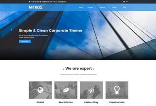Nitroz – Premium Responsive Corporate WordPress Theme