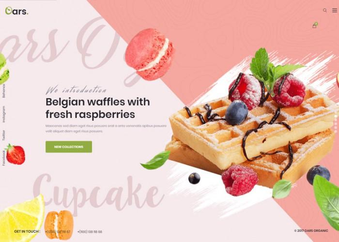 Oars – Premium Responsive Organic Food Store WordPress Theme