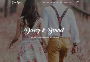 OneLove – Premium Responsive Elegant & Clean Wedding WordPress Theme