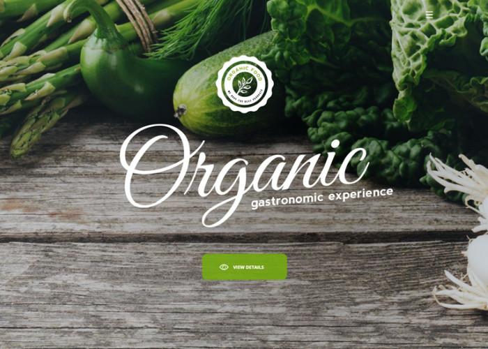 Organic – Premium Responsive Multipurpose Restaurant HTML5 Template