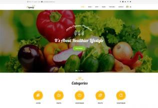 Organiz – Premium Responsive Organic Store Drupal 8 Theme