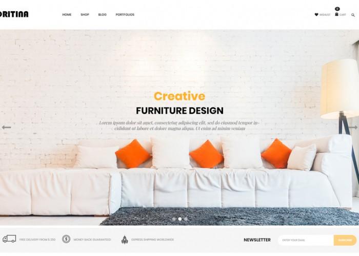 Oritina – Premium Responsive WooCommerce WordPress Theme