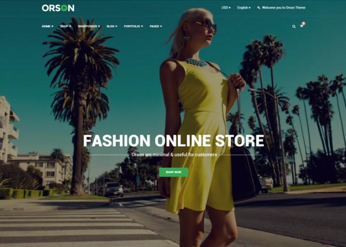 Orson – Premium Responsive Shop WordPress WooCommerce Theme