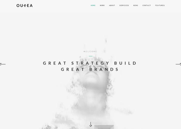 Ourea – Premium Responsive Creative Portfolio / Agency WordPress Theme