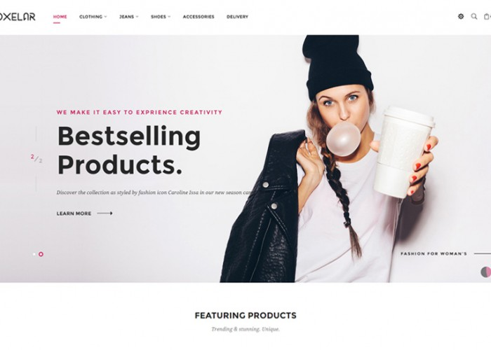 Oxelar – Premium Responsive Prestashop Theme