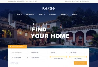 Palazzo – Premium Responsive Real Estate WordPress Theme