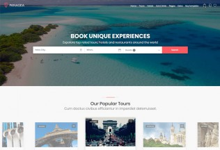 Panagea – Premium Responsive Travel HTML5 Template