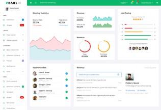 PearlUI – Premium Responsive Angular 5 Bootstrap 4 Admin HTML5 Template