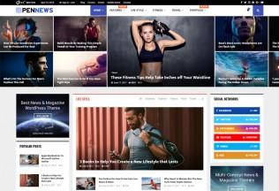 PenNews – Premium Responsive Multi-Concept Magazine WordPress Theme