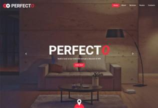 Perfecto – Premium Responsive Hotel HTML5 Template