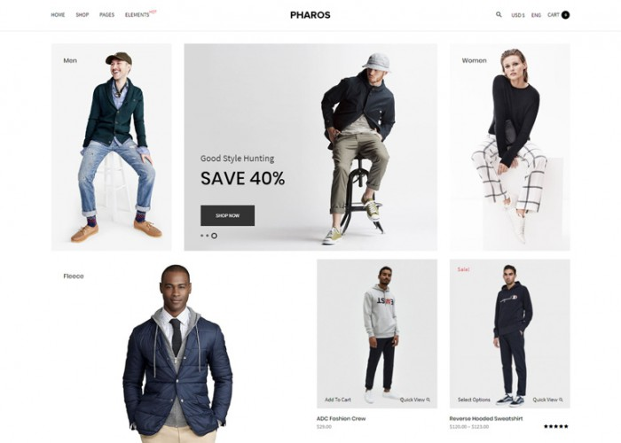 Pharos – Premium Responsive Clean WooCommerce WordPress Theme