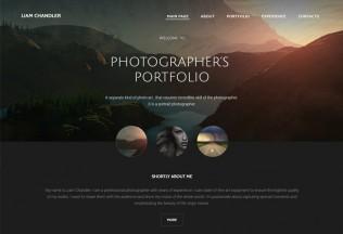 Photographer – Premium Responsive Portfolio HTML5 Template