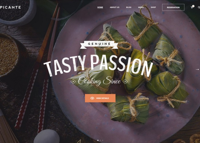 Picante – Premium Responsive Restaurant & Food WordPress Theme