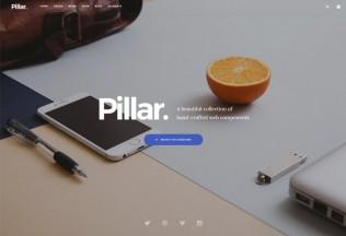 Pillar – Premium Responsive Multipurpose HTML5 Template with Page Builder