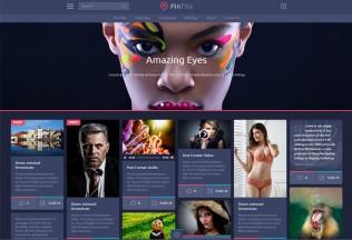 PinThis – Premium Responsive Pinterest Style WordPress Theme