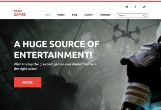 Play Games – Premium Responsive Games WordPress Theme